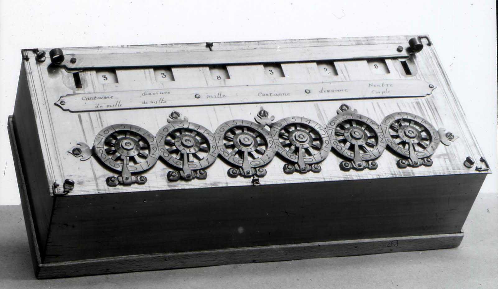 pascals adding machine